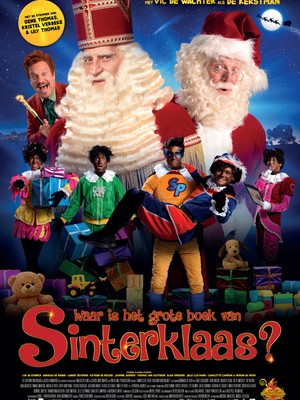 Waar is het grote boek van Sinterklaas?