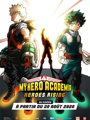 My Hero Academia Heroes Rising - Animation (modern)