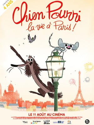 Chien Pourri, la vie à Paris!