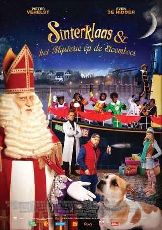 Sinterklaas en het Mysterie op de Stoomboot