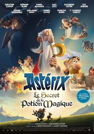 Asterix and the Secret of the Magic Potion