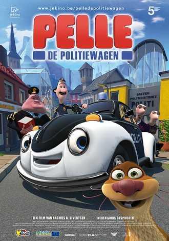 Pelle en de Politiewagen
