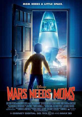 Mars Needs Moms 3D