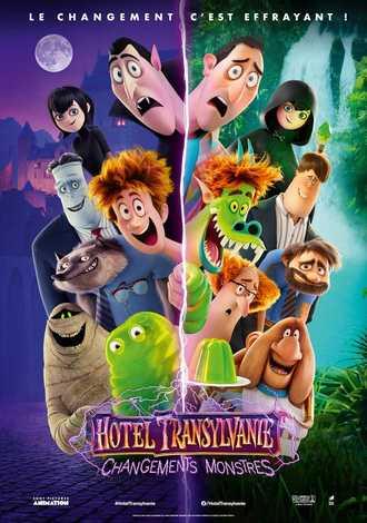 Hotel Transylvanie 4 : Changements Monstres