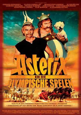 Astérix aux Jeux Olympiques (cinéma plein air)