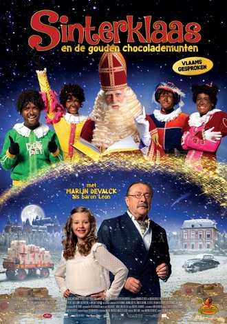 Sinterklaas en de gouden chocolademunten