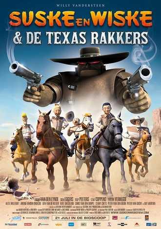 Suske & Wiske en De Texas Rakkers