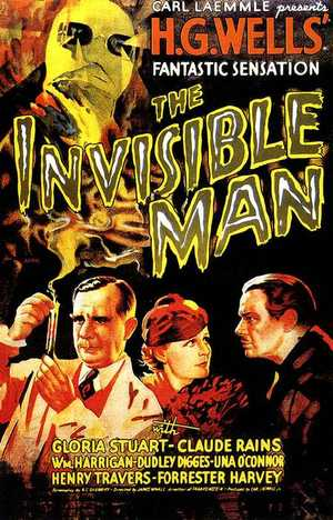 The invisible man - Horror, Science Fiction, Thriller