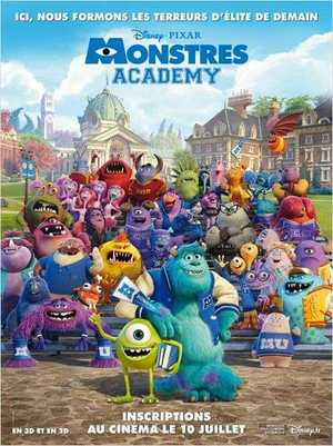 Monsters University - Comedy, Adventure, Animation (modern)