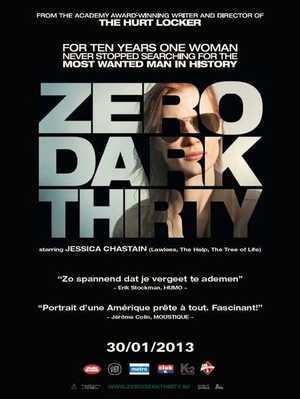 Zero Dark Thirty - Action, Thriller, Drama