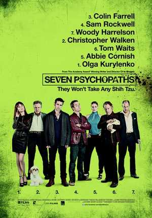 Seven Psychopaths - Action, Crime, Comedy