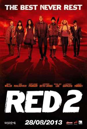 Red 2 - Action, Crime, Comedy