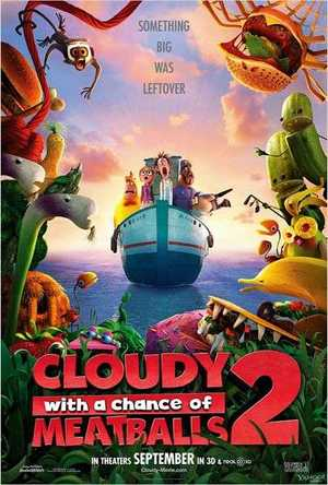 Cloudy with a Chance of Meatballs 2 - Animation (modern)