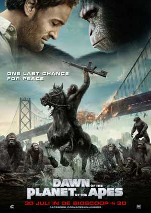 Dawn of the Planet of the Apes - Action, Science Fiction, Adventure