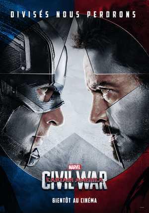 Captain America : Civil War - Action, Science Fiction, Adventure