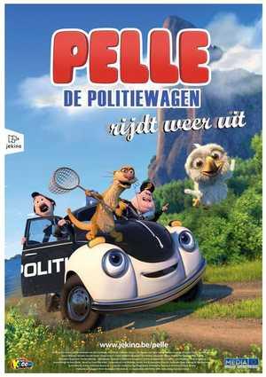 Pelle de politiewagen rijdt weer uit - Animation (modern)
