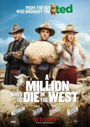 A Million Ways to Die in the West - Comedy, Western