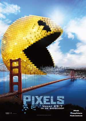 Pixels - Action, Comedy, Animation (modern)
