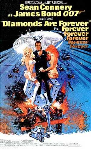James Bond 007 : Diamonds are forever - Action, Adventure
