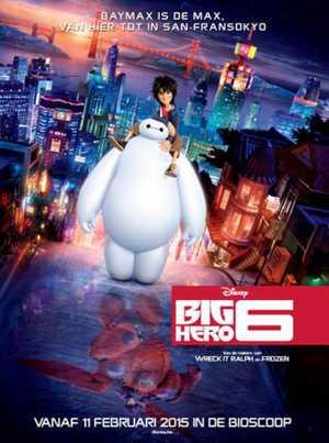 Big Hero 6 - Comedy, Animation (modern)