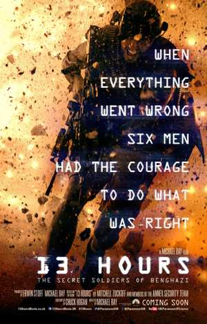 13 Hours: The Secret Soldiers of Benghazi - Action, Drama