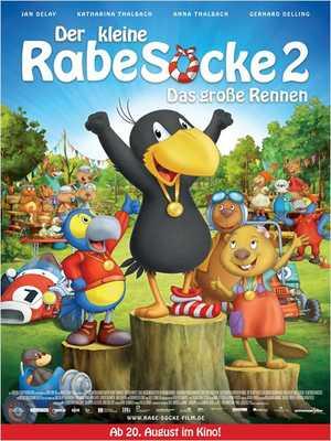 Der kleine Rabe Socke 2 - Das große Rennen - Animation (modern), Family, Adventure