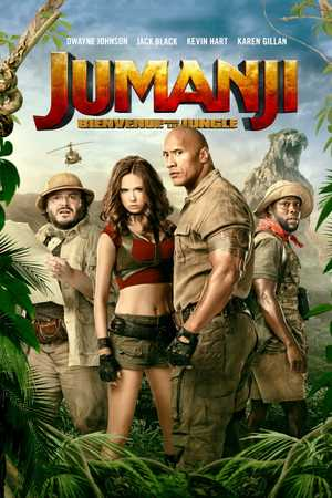 Jumanji: Welcome to the jungle - Family, Fantasy, Adventure