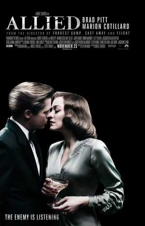 Allied - Thriller, Drama, Romantic