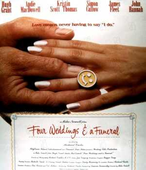 Four Weddings and a Funeral - Comedy, Drama, Romantic