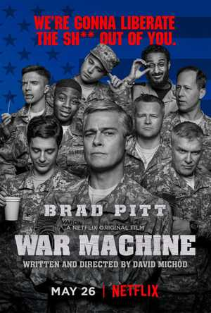 War Machine - Comedy, Drama, War