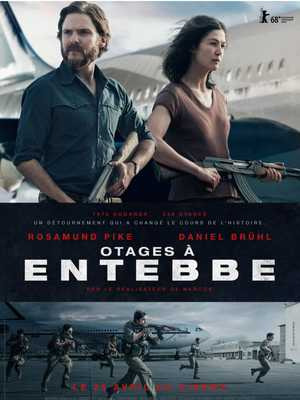 7 Days in Entebbe - Crime, Thriller, Drama