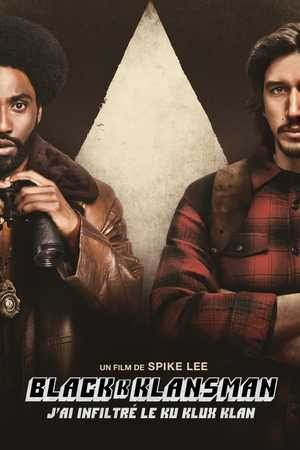 BlacKkKlansman - Crime, Comedy