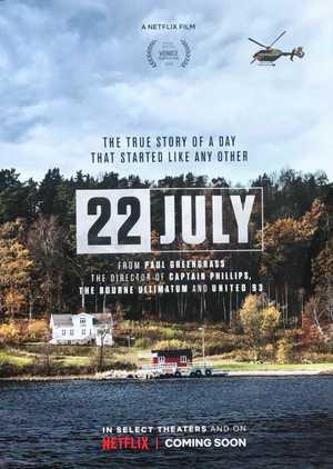 22 July - Biographical, Drama