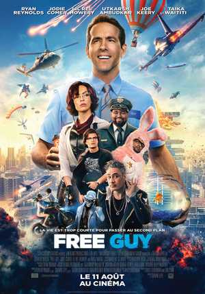 Free Guy - Action, Adventure, Comedy