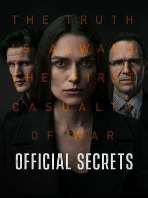Official Secrets - Biographical, Drama