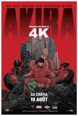 Akira - Action, Science Fiction, Drama, Animation (modern)