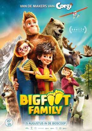 Bigfoot Family - Animation (modern)