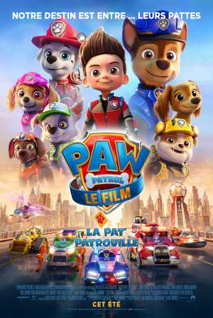 Paw Patrol Movie - Animation (modern)