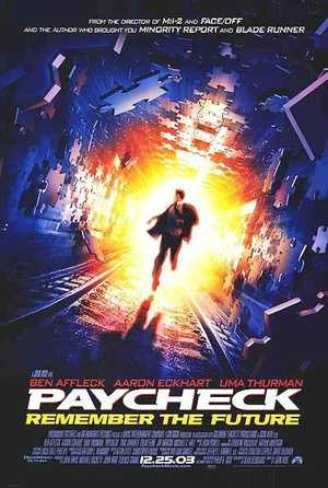 Paycheck - Science Fiction