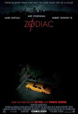 Zodiac - Crime, Thriller, Drama