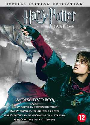 Harry Potter Year 1-4 - Fantasy, Adventure