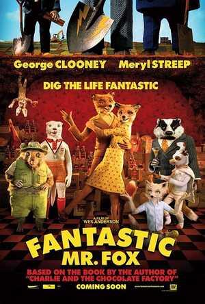 Fantastic Mr. Fox - Comedy, Adventure, Animation (modern)