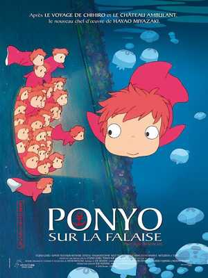 Ponyo on the Cliff by the Sea - Family, Adventure, Animation (modern)