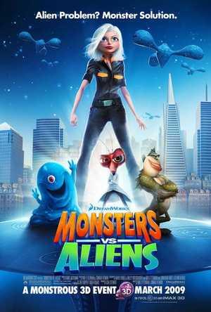 Monsters vs Aliens - Animation (modern)
