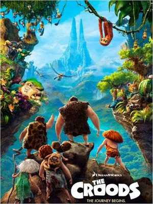 The Croods - Comedy, Adventure, Animation (modern)