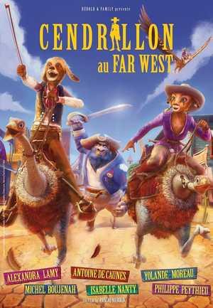 Cendrillon au far west - Animation