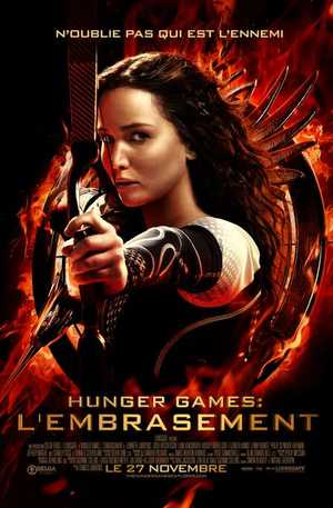 Hunger Games 2 : L'Embrasement - Action, Drame, Aventure