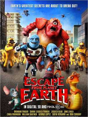 Escape from Planet Earth - Aventure, Animation