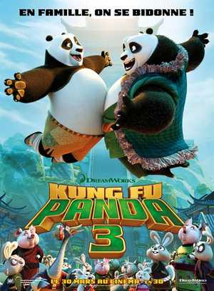 Kung fu panda 3 - Action, Aventure, Animation