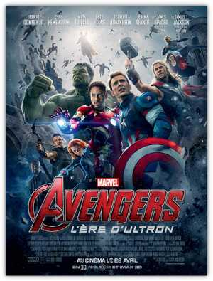Avengers 2 : l'ère d'ultron - Action, Science-Fiction, Fantastique